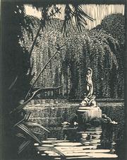 Sale 8896A - Lot 5016 - Lewis Roy Davies (1897 - 1979) - The Pond 1935 10.5 x 9 cm