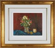 Sale 8904H - Lot 50 - RAY CROOKE (1922 - 2015) - Still Life approx. 40cm x 50 cm