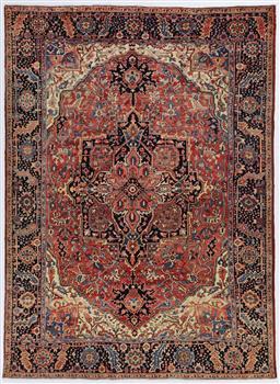 Sale 9123J - Lot 45C - Natural Dye Persian Heriz rug c1930 mellow tones 335 x 250cm