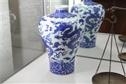 Sale 8292 - Lot 34 - Chien Lung Style Blue & White Vase