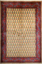 Sale 8380C - Lot 6 - Persian Turkman 145cm x 110cm