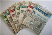 Sale 8404S - Lot 40 - 1969 Rugby League News Programmes - Vol. 50, Nos 9, 13, 17, 18, 20, 25, 26, 30, 34