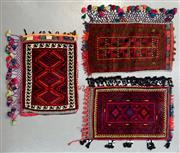 Sale 8472C - Lot 71 - 3 x Persian Tent Pillow 90cm x 70cm