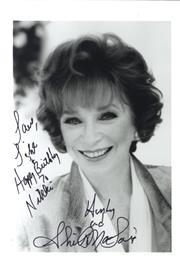Sale 8809A - Lot 5007 - Shirley MacLaine