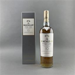 Sale 9120W - Lot 1482 - The Macallan Distillers 10YO 'Fine Oak' Highland Single Malt Scotch Whisky - 40% ABV, 700ml in box