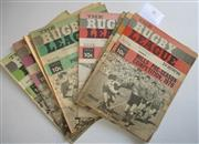 Sale 8404S - Lot 41 - 1970 Rugby League News Programmes - Vol. 51, Nos. 7, 9, 11, 12, 19, 20, 30, 27, 38