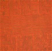 Sale 8459 - Lot 521 - Bambatu Napangardi (c1940 - ) - Kungka Tjukurrpa 105 x 95cm