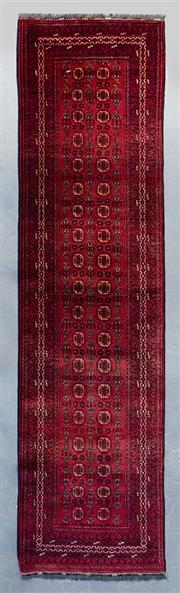 Sale 8480C - Lot 75 - Afghan Mori Gul 300cm x 80cm