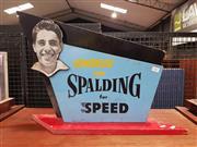 Sale 8930 - Lot 1007 - Vintage Cardboard Counter Top Spalding Advert