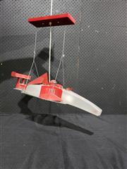Sale 9056 - Lot 1054 - Hanging McLaren Formula 1 Team Hanging Light Fitting (H:46 L:62cm)