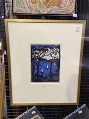 Sale 9082 - Lot 2005 - Margaret Preston Decorative Print 57 x 48cm -