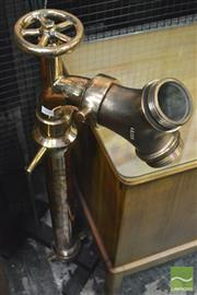 Sale 8364 - Lot 1038 - Large Vintage Fire Hydrant Hose Splitter