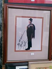Sale 8582 - Lot 2142 - Framed Signed Picture of Frank Sinatra