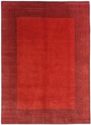 Sale 8626A - Lot 111 - A Cadrys Jan Kath Blueberry Border Tibetan Highland Wool & Chinese Silk Carpet, Size; 335x250cm, RRP; $6500