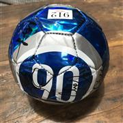 Sale 8863S - Lot 62 - Socceroos World Cup Mini-Ball, signed by seven players.
