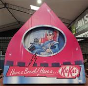 Sale 8930 - Lot 1010 - Vintage Kit Kat Shop Advert