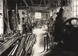 Sale 9252AD - Lot 5090 - HERTHA KLUGE POTT (1934 - ) - Industrial Work Shop VIII 76 x 101.5 cm