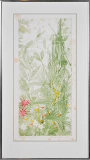 Sale 8347A - Lot 86 - Edith Cowlishaw (1924 - ) (4 works) - Natures Series 55.5 x 25cm, each