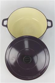 Sale 8393 - Lot 37 - Chasseur Lidded Casserole Dish