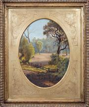 Sale 8427 - Lot 599 - Artist Unknown (XIX - XX) - Colonial Landscape 39 x 29cm