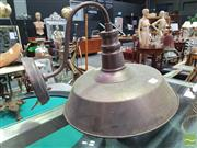 Sale 8424 - Lot 1054 - Pair Of Industrial Wall Lights