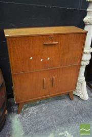 Sale 8523 - Lot 1008 - Drop Front Drinks Cabinet