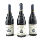 Sale 8825 - Lot 784 - 3x 2007 Domaine de Villeneuve Vieilles Vignes, Chateauneuf-du-Pape