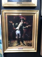 Sale 8816 - Lot 2053 - Arthur Nichol - The Lyric Tenor oil on board, frame size: 62 x 51cm, signed lower right