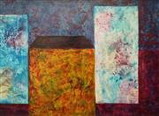 Sale 8892 - Lot 543 - Maximilian Feuerring (1896 - 1985) - Cubic Facades 60 x 85 cm