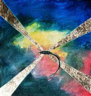 Sale 9034A - Lot 5018 - Kym Hart (1965 - ) - Dragonfly 40 x 40 cm (frame: 56 x 54 x 4 cm)