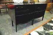 Sale 8310 - Lot 1043 - Pair of Kartell Ghostbuster Black Bookshelves