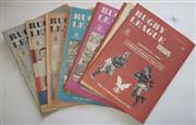 Sale 8404S - Lot 44 - 1973 Rugby League News Programmes - Vol. 54, Nos. 9, 13, 15, 20, 23, 24, 27, 28, 32, 33, 34, 35, 37
