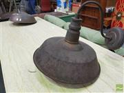 Sale 8424 - Lot 1034 - Pair Of Industrial Wall Lights
