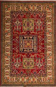 Sale 8447C - Lot 60 - Afghan Kazak 180cm x 120cm