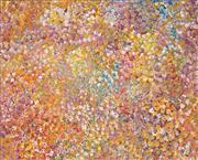 Sale 8467 - Lot 510 - Polly Ngale (c1936 - ) - Bush Plum 70 x 87cm