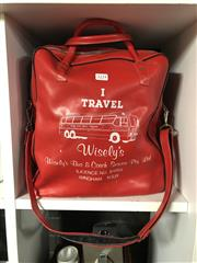 Sale 8801 - Lot 1052 - Wisleys Bus and Coach Services Bag