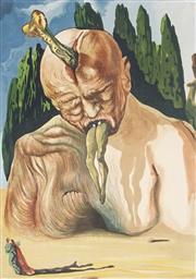 Sale 9009A - Lot 5016 - Salvador Dali (1904 - 1989) - The Divine Comedy Series 25 x 18 cm (frame: 57 x 49 x 2 cm)