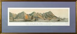 Sale 9256H - Lot 14 - A pair of hand coloured and well framed lithographs by E Walker,  printed by Day & Son, Lithographers to the Queen, published  by A...