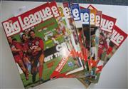 Sale 8404S - Lot 45 - 1986 Big League Programmes - Vol. 67, Nos. 7, 8, 10, 11, 12, 13, 14, 15, 16, 17, 18, 19, 20, 22, 23, 24, 25