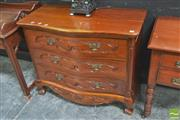 Sale 8418 - Lot 1004 - Mahogany Chest of Drawers