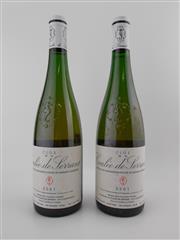Sale 8479 - Lot 1813 - 2x 2001 Nicolas Joly Clos de la Coulee de Serrant, Savennieres