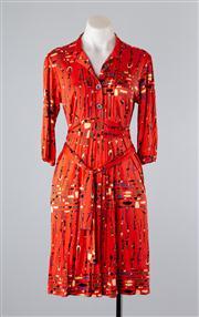 Sale 8685F - Lot 82 - A Mara Hoffman printed silk jersey knit dress, size S