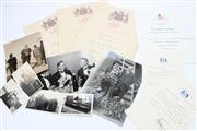 Sale 8733 - Lot 72 - 1937 Celebrations Souvenirs Belonging to Dunningham