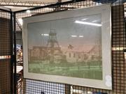 Sale 8789 - Lot 2146 - David K Miles - Urban Landscape screenprint, 68 x 90cm, signed lower right