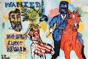 Sale 9001 - Lot 552 - Yosi Messiah (1964 - ) - Horse Whisperer 122 x 178 cm (total: 122 x 178 x 4 cm)