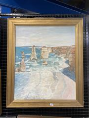 Sale 9050 - Lot 2003 - An Oil Painting of the 12 Apostles (73 x 62cm) signed and dated lower left