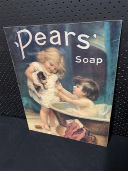 Sale 9106 - Lot 2088 - PEARS Advertising Board (h:54 x w:43cm)