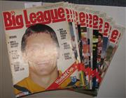 Sale 8404S - Lot 46 - 1987 Big League Programmes - Vol. 68, Nos. 2, 3, 4, 5, 6, 7, 8, 9, 11, 12, 13, 14, 15, 16, 17, 18, 19, 20, 21, 22, 23, 24, 25, 26, 2...