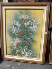 Sale 8437 - Lot 2022 - Sheila Forbes (1919 - ) - Untitled (Flowers) 59.5 x 44cm
