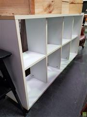 Sale 8611 - Lot 1057 - Modern Open Bookcase
